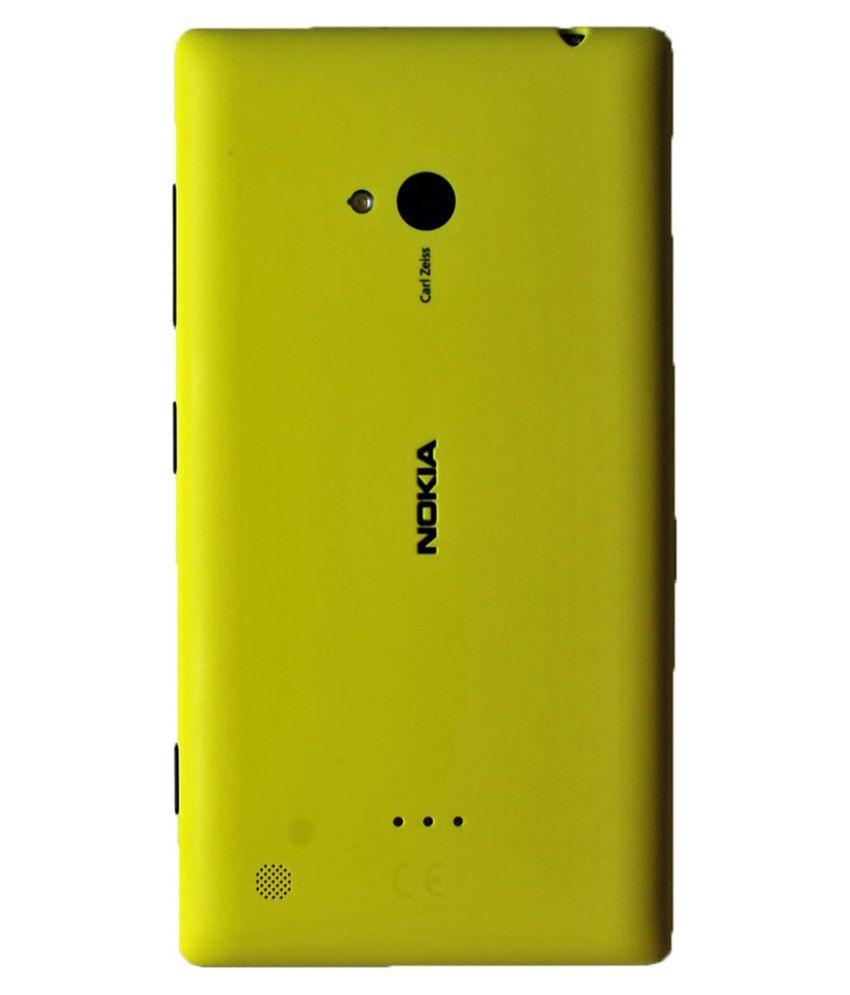 buy online f3c74 b1a43 Nokia Lumia 720 Original Back Panel by ShineStar - Green - Mobile ...