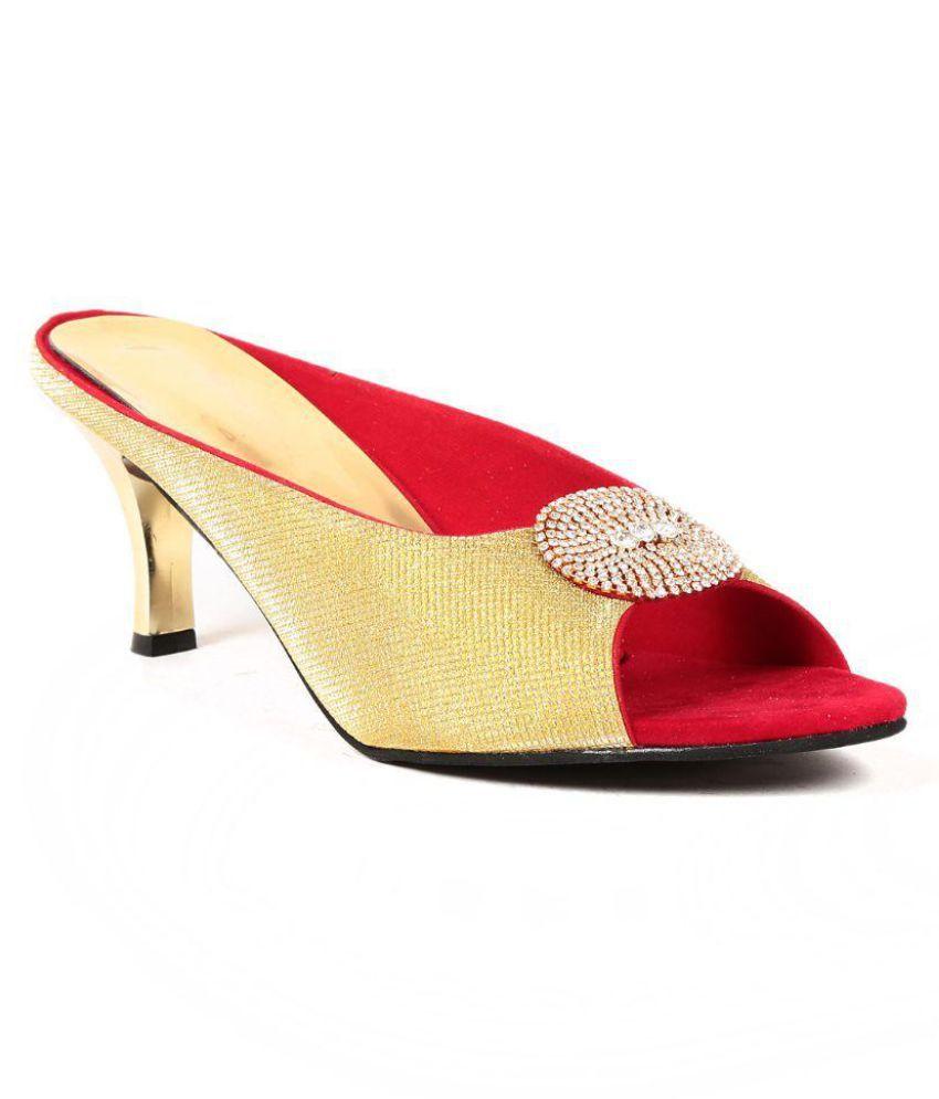 Ka Fashion Gold Flats