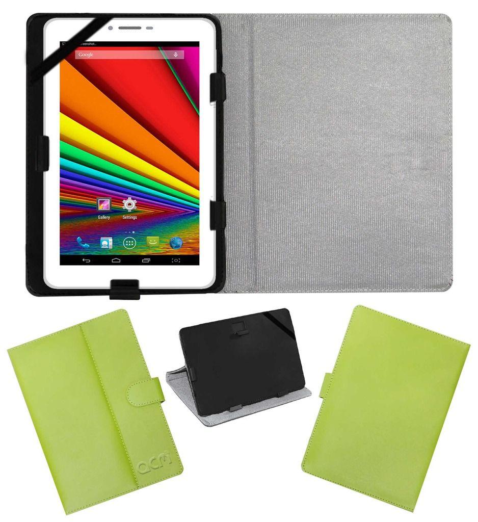 Uni N2 Leather Flip Case By ACM Green