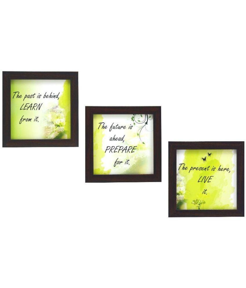 Indianara motivational MDF Painting With Frame