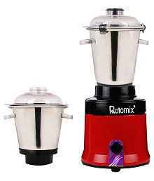 Rotomix 2000W Aluminium Body 16 Above 1000 W 2 Jar Mixer Grinder
