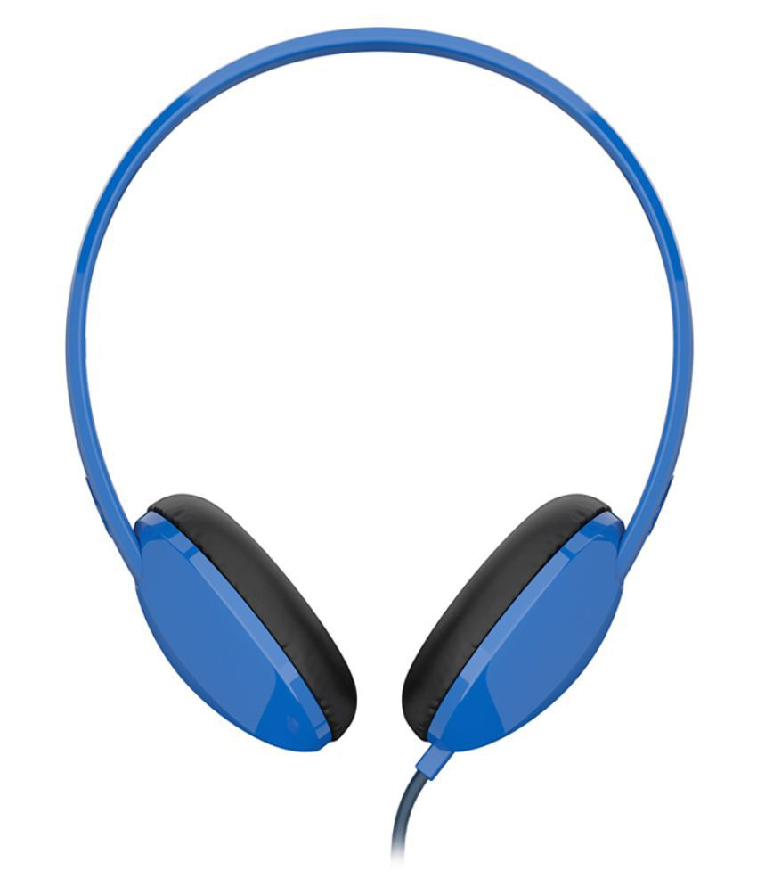 skullcandy slhz j on ear wired headphones out mic blue skullcandy s5lhz j569 on ear wired headphones out mic blue