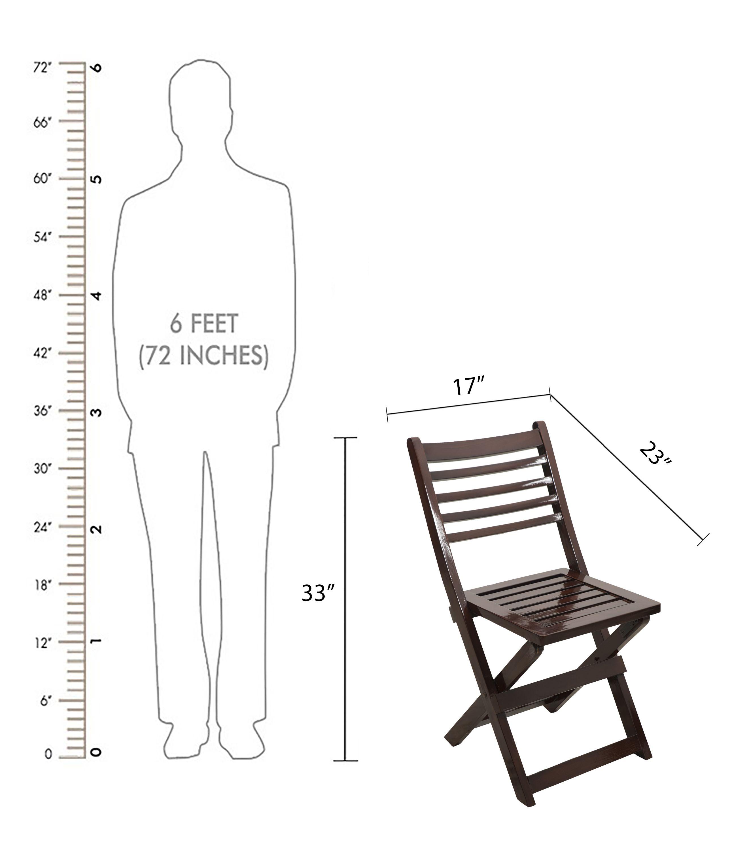 Spazer Wooden Folding Chair Buy 1 Get 1 Free Buy Spazer Wooden
