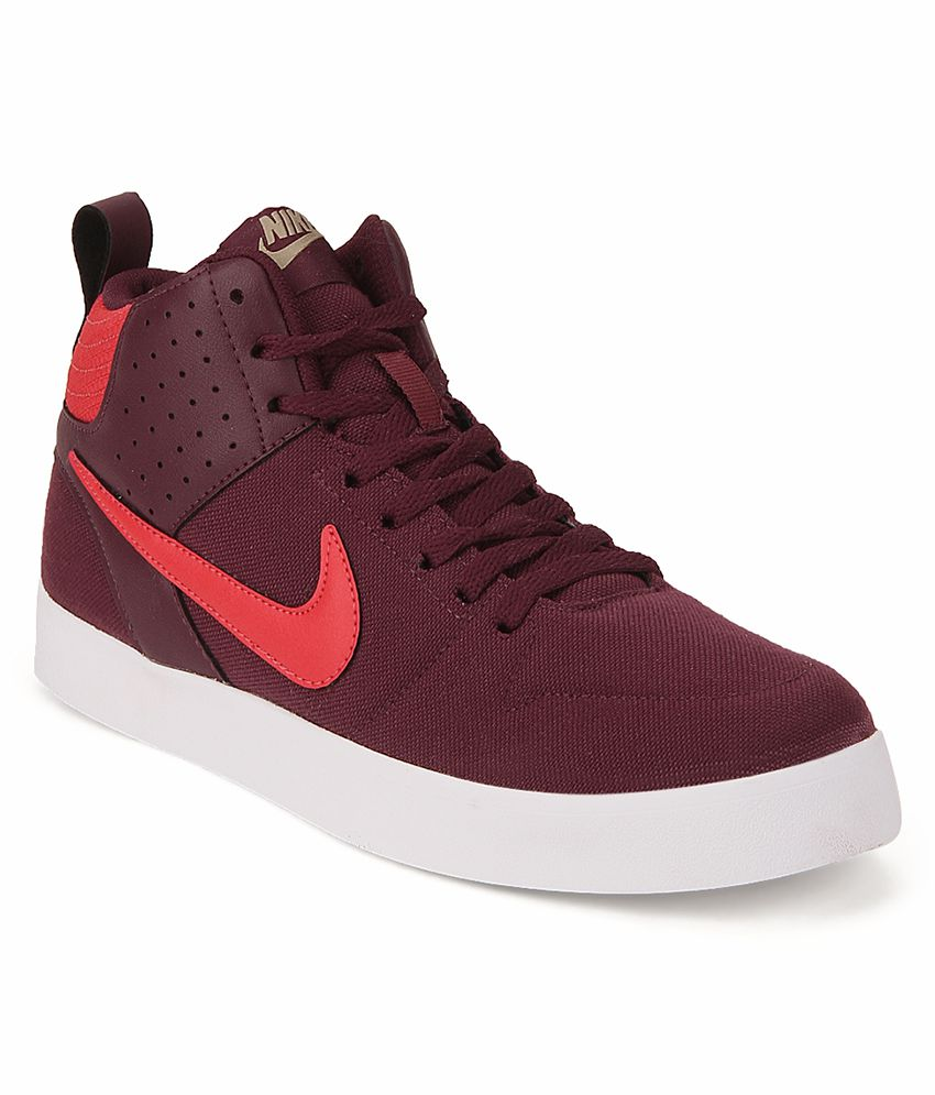 Nike 669594-602 Sneakers Maroon Casual Shoes Art ...
