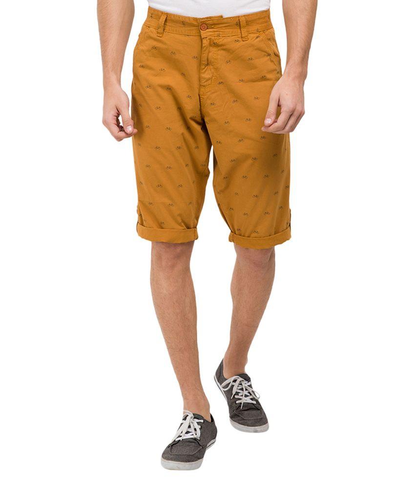 Locomotive Yellow Shorts