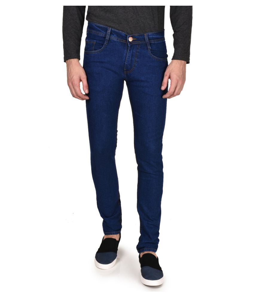 Routeen Blue Slim Solid