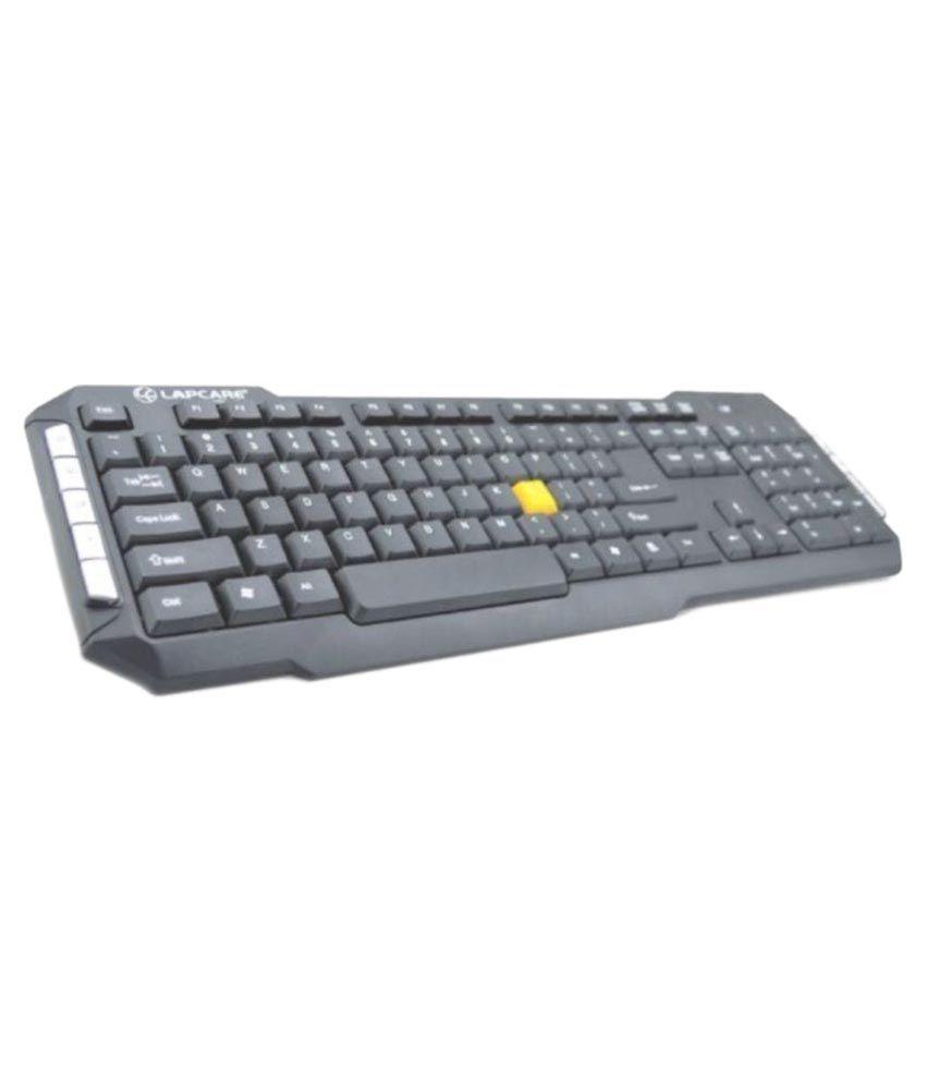 Lapcare l700 Black Wireless Desktop Keyboard Keyboard