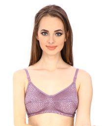 Secret Wish Purple Lace T-Shirt/ Seamless Bra - 669401225127