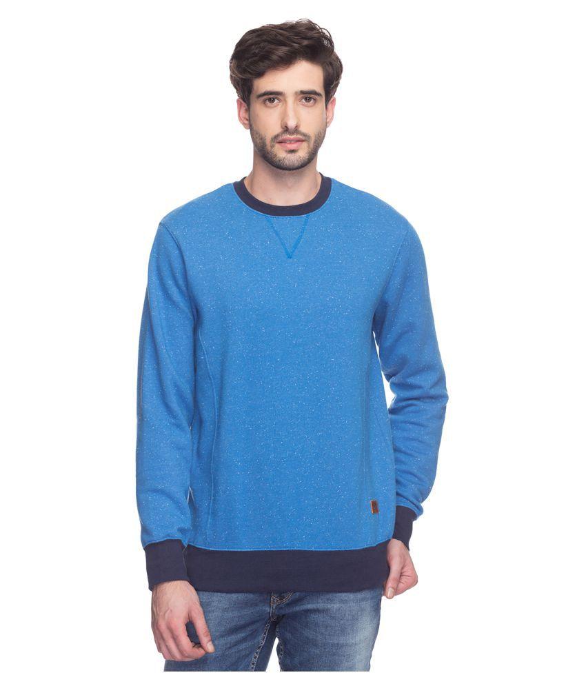 Colorplus Blue Round T-Shirt