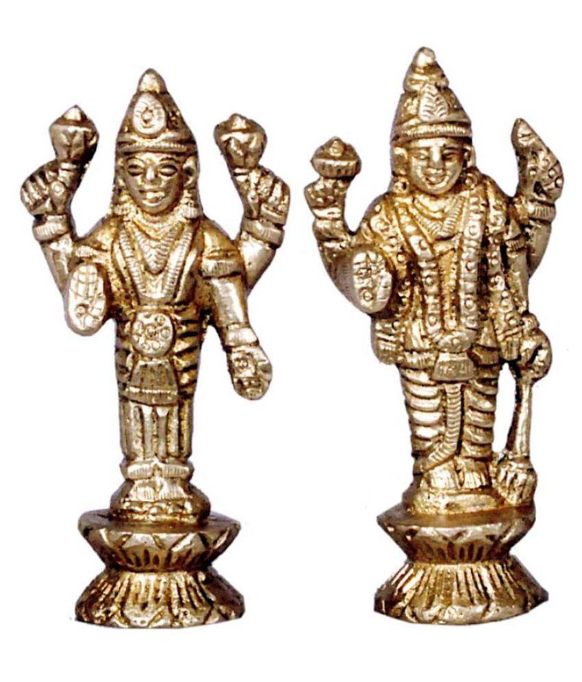 JY Vishnu Brass Idol