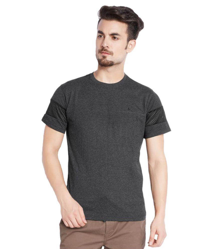 Parx Grey Round T-Shirt