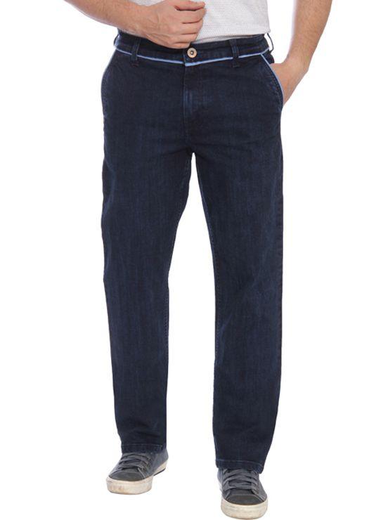 Raymond Blue Regular Fit Solid