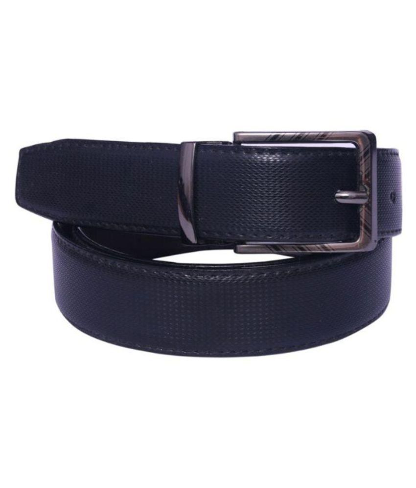 Oodi Black PU Casual Belts