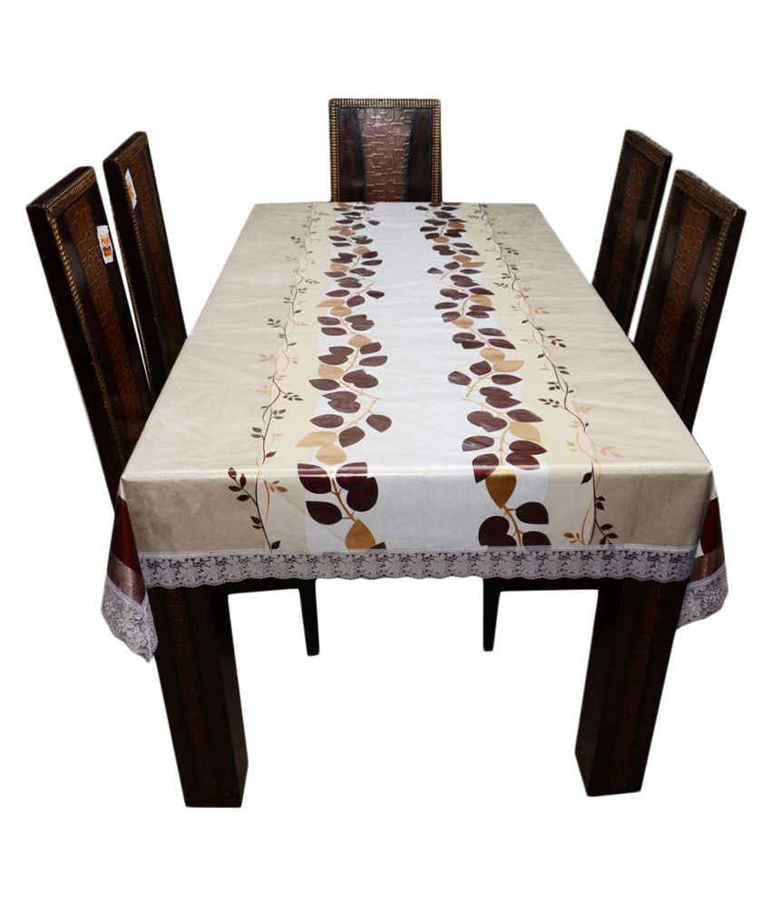 The Trendy 6 Seater PVC Single Table Covers