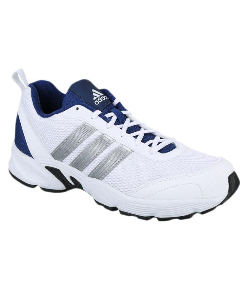 5e279ccd45c68 Adidas Albis 1.0 M White Running Shoes - Buy Adidas Albis 1.0 M White  Running Shoes Online at Best Prices in India on Snapdeal