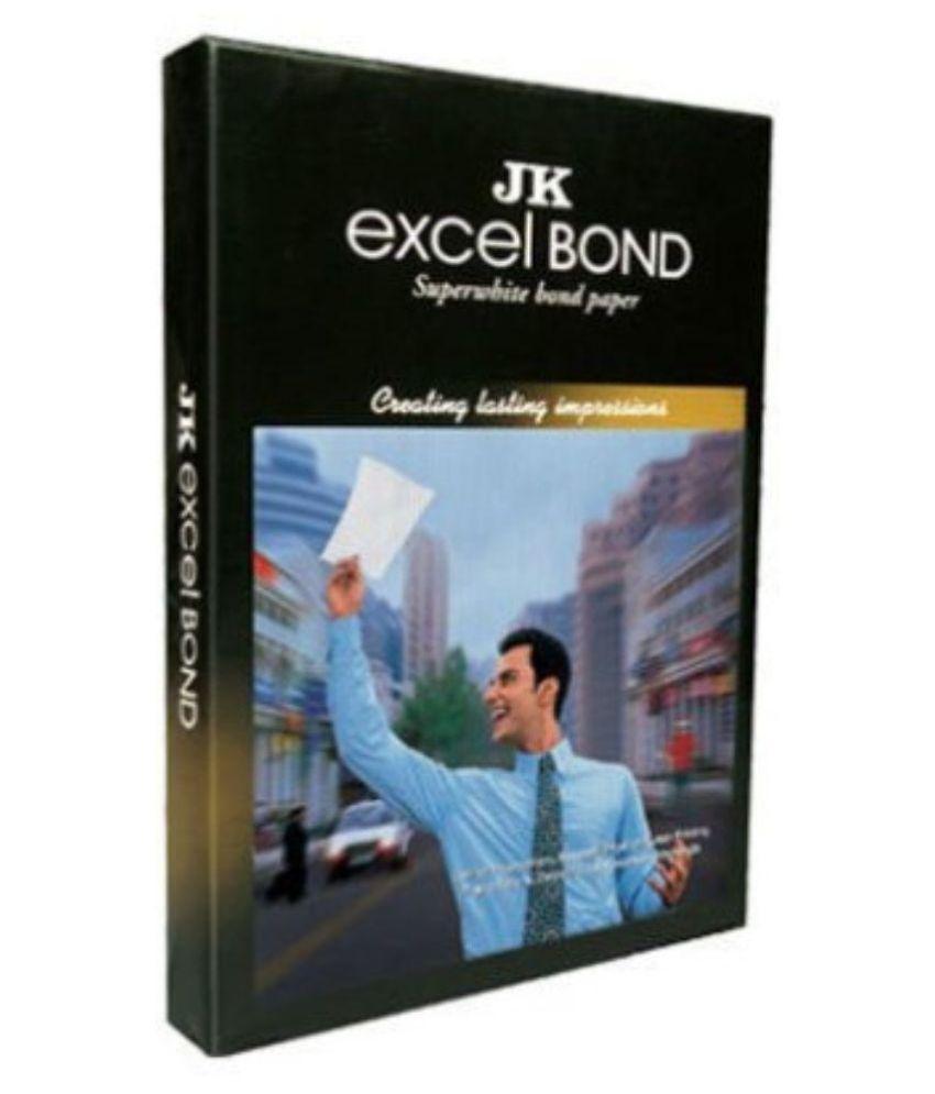 Jk Excel Bond A4 Paper 100 Sheet   Pack of 2
