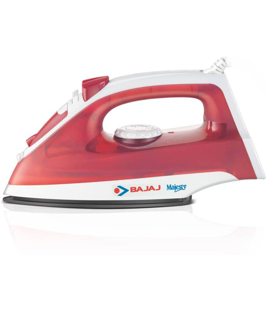 Bajaj Majesty MX5 Steam Iron – Red low price