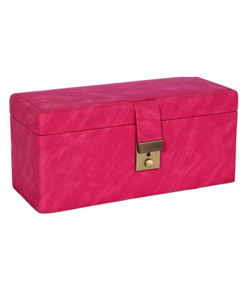 Imperio Pink Jewellery Box