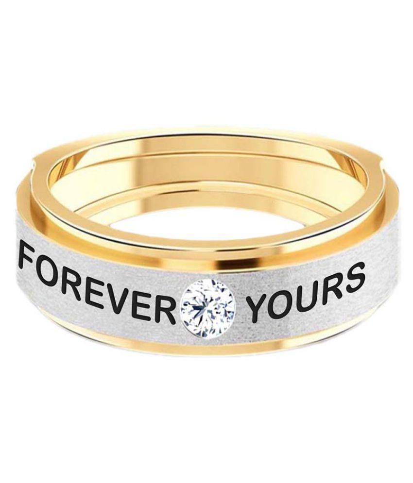 Jacknjewel 18k Yellow Gold Diamond Couple Bands