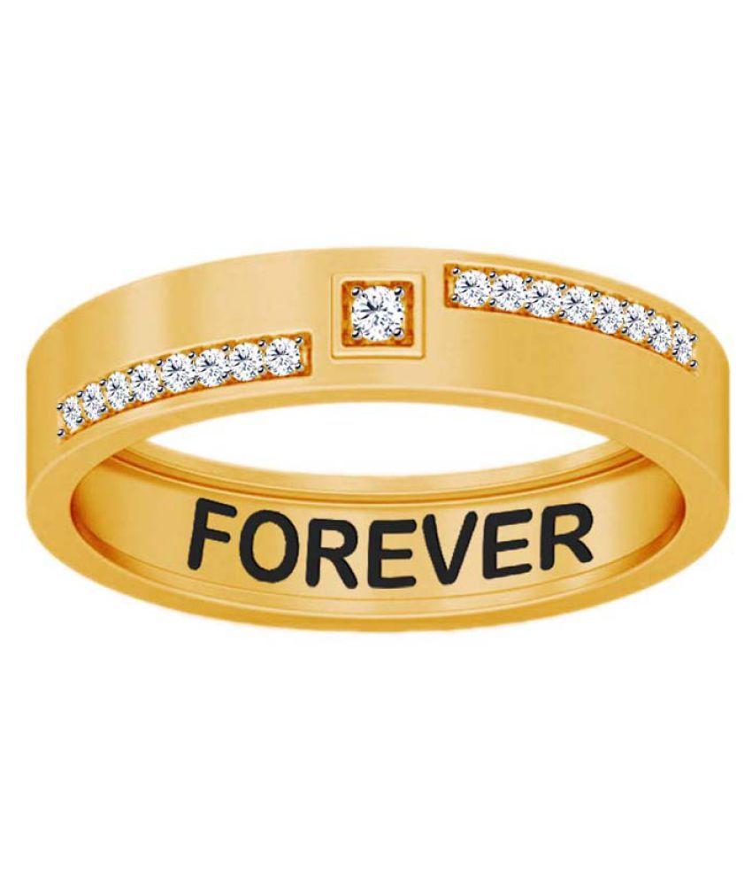 Jacknjewel 18k Yellow Gold Diamond Ring