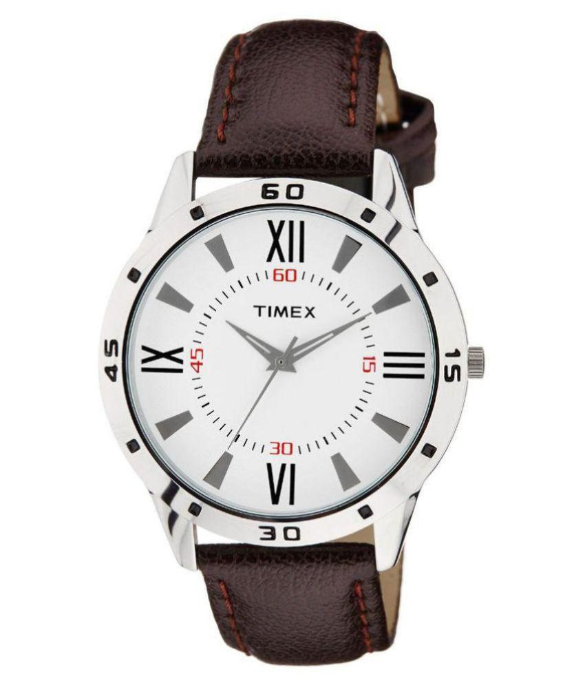 Timex Brown Analog Watch
