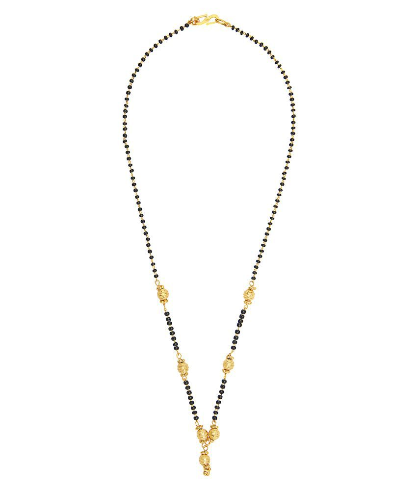 Shining Jewel Golden Mangalsutra
