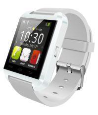POWR U8 Smartwatch (White Strap)
