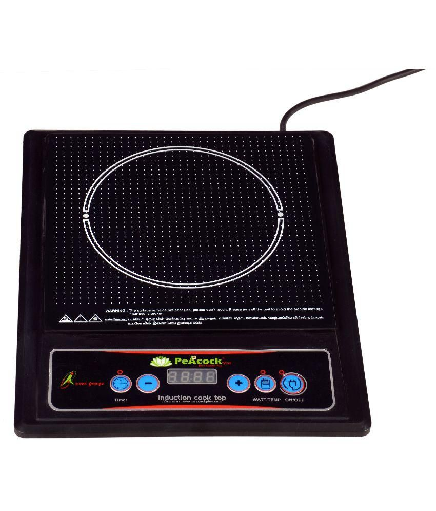 Peacock Plus 1800W Induction Cooktop