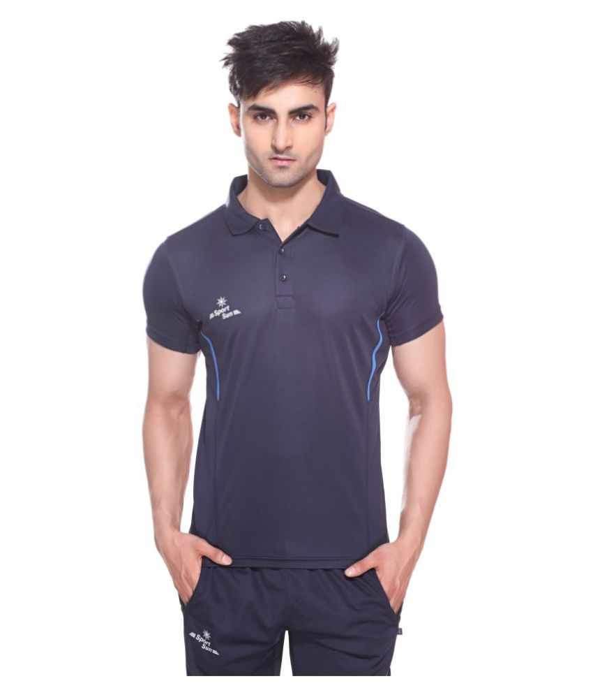 Sport Sun Navy Polo T-Shirt