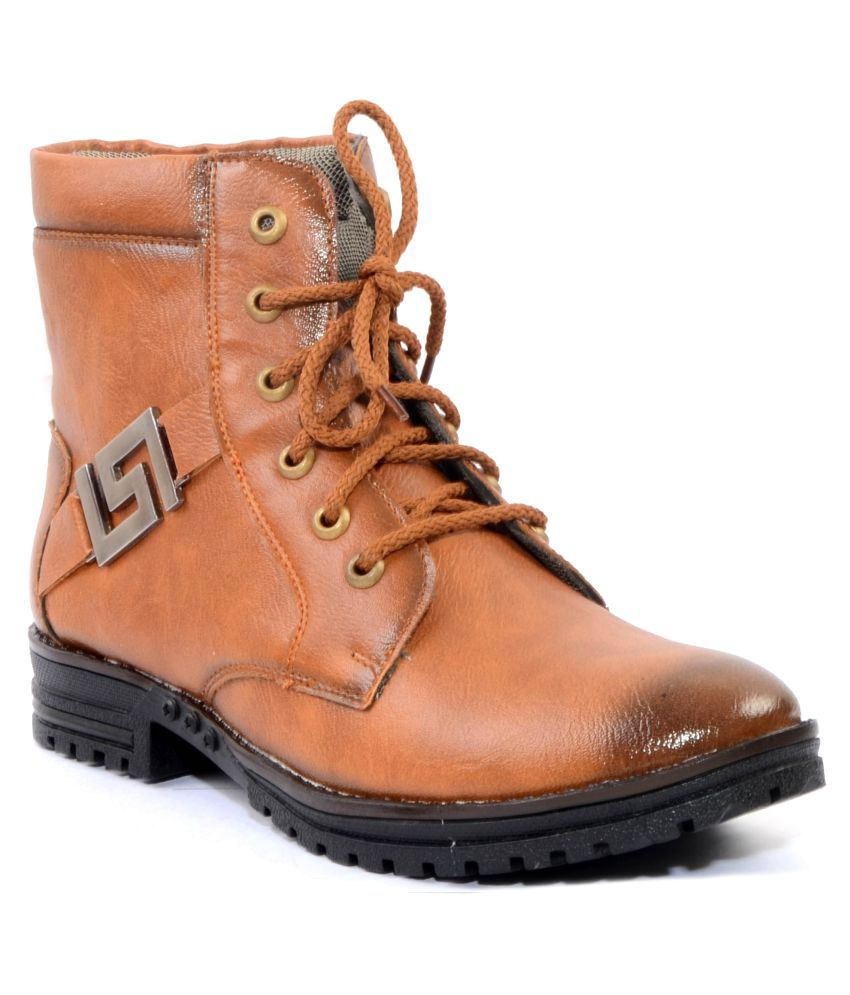 Woof Brown Party Boot