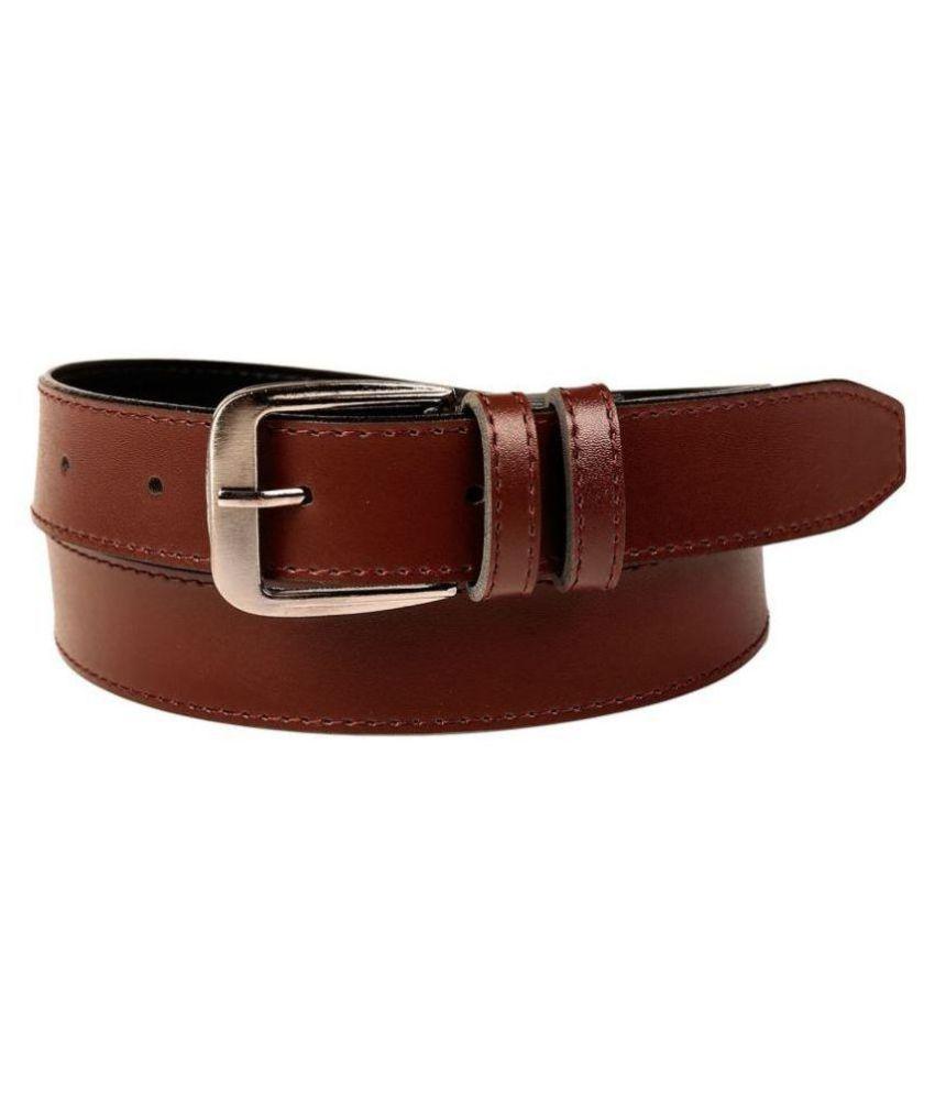 Oodi Brown PU Casual Belts
