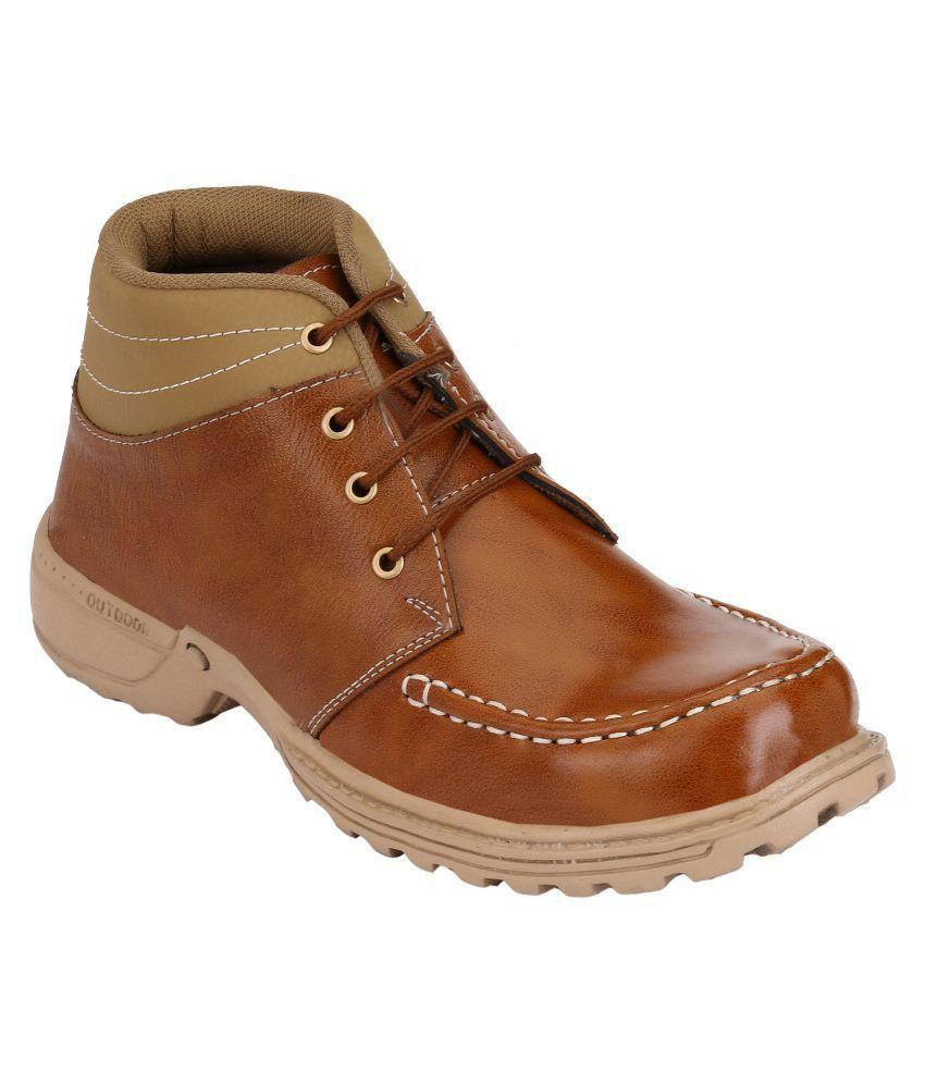 Primeshoe Tan Casual Boot