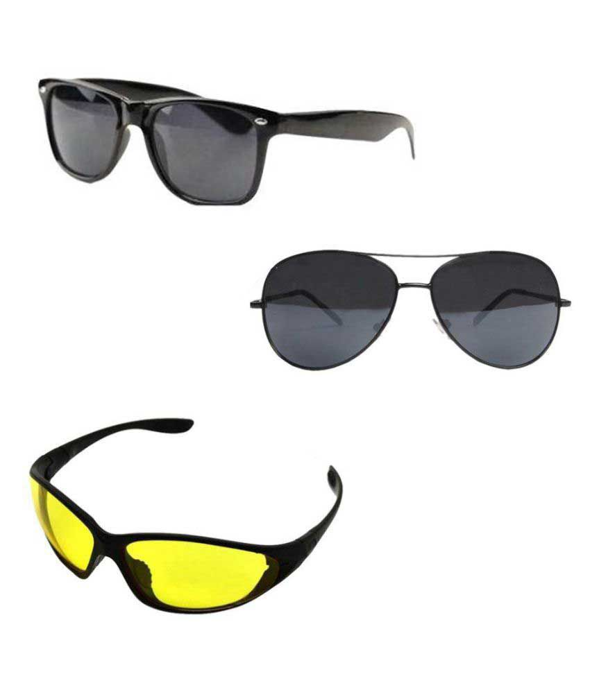 SBA Entice Sunglasses Combo ( 3 pairs of sunglasses ) - Buy SBA Entice  Sunglasses Combo ( 3 pairs of sunglasses ) Online at Low Price - Snapdeal 0afe1ef309