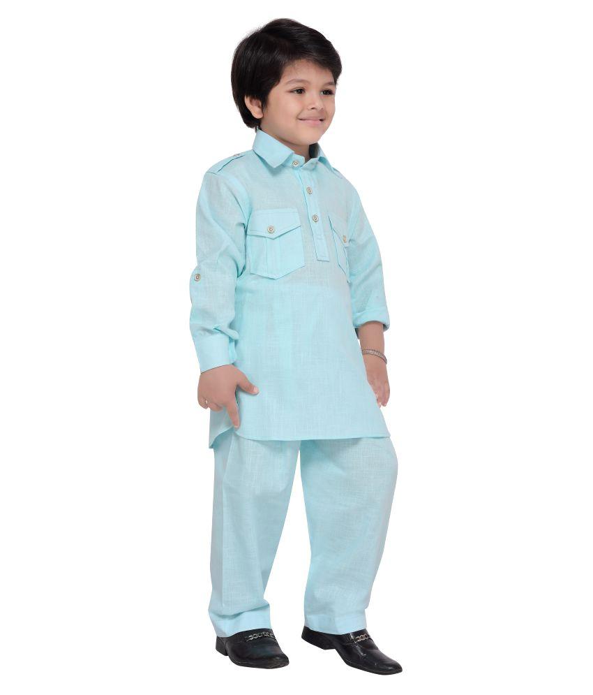 AJ Dezines Kids Pathani Suit for Boys - Buy AJ Dezines Kids Pathani ...