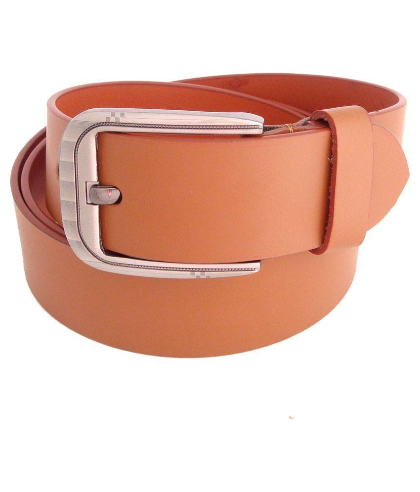 SFA Tan Leather Casual Belts