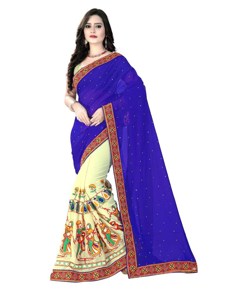 Lizare Fashion Multicoloured Georgette Saree