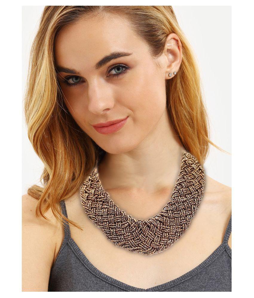 Renaissance Traders Golden Necklace
