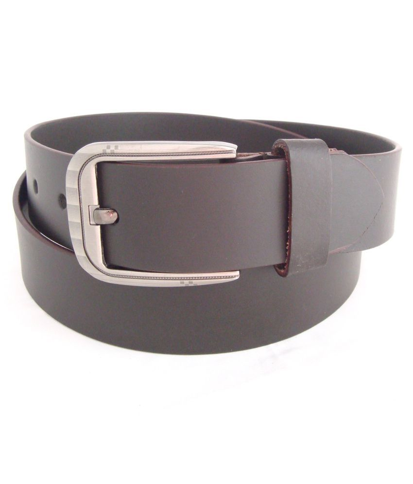SFA Brown Leather Casual Belts