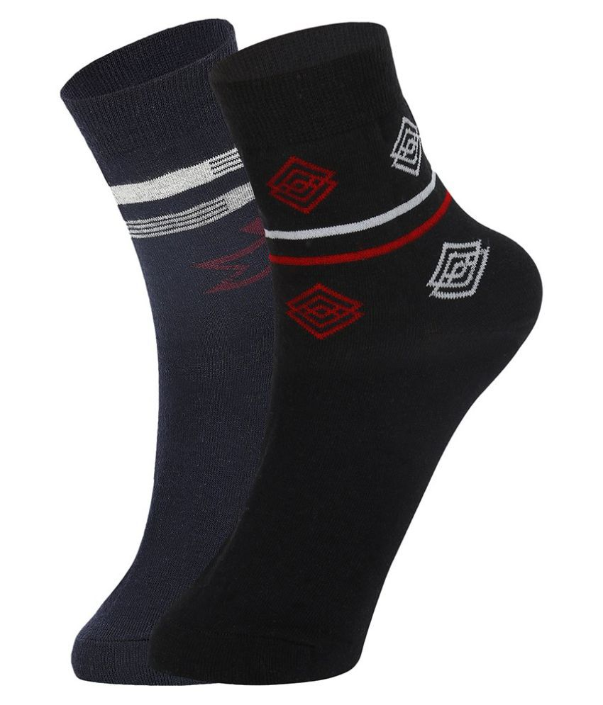 Dukk Multi Casual Ankle Length Socks