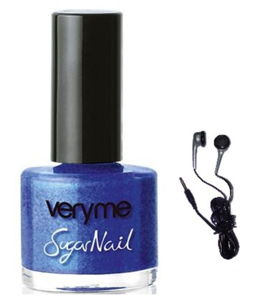 Very Me Sugar Nail(blue icing)with maxell earbuds