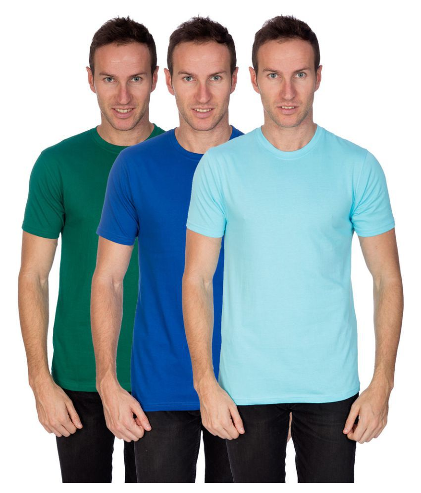 Artist Multi Round T-Shirt Pack of 3