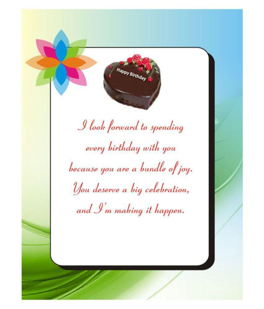 Personalised Birthday Card A3 Size Buy Online At Best Price In
