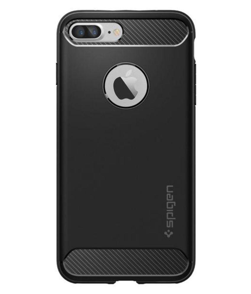 huge discount 270c5 f70c5 Spigen iPhone 7 Plus / iPhone 8 Plus Case Rugged Armor Black 043CS20485
