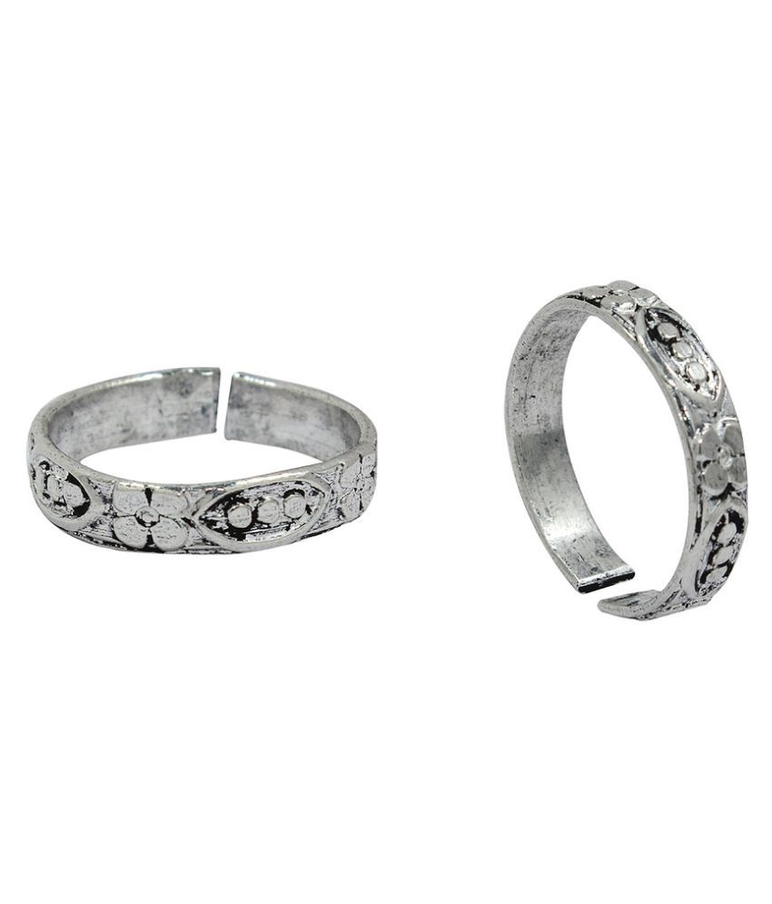 Ranvijay Silver Toe-Ring