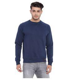 Blue Saint Blue Round Sweatshirt