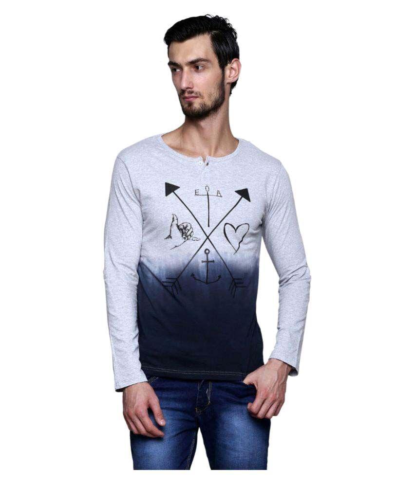 Era Of Attitude Multi Henley T-Shirt