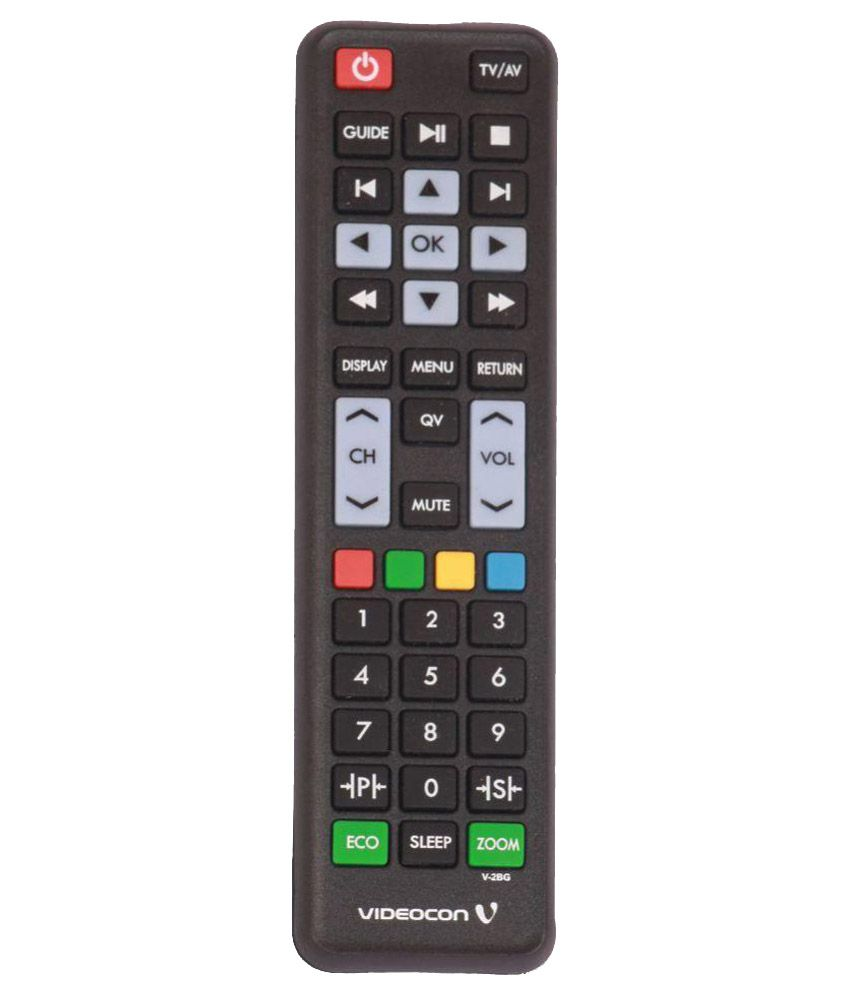 Buy Videocon V 2bg Tv Remote Compatible With Videocon Lcdled Tv