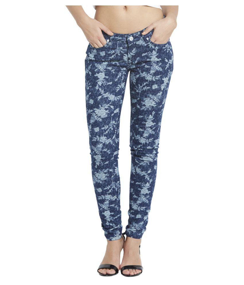 Globus Blue Cotton Jeans