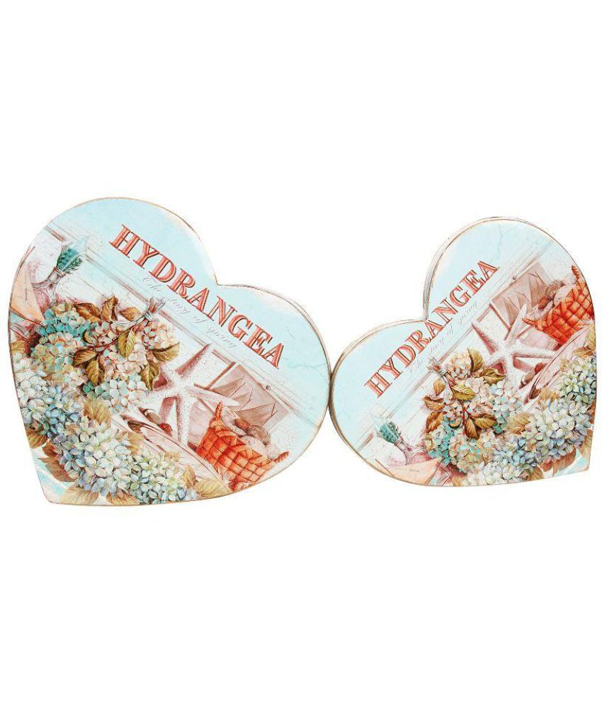 Kulture Label 15AT-725 Tin Food Container Set of 2