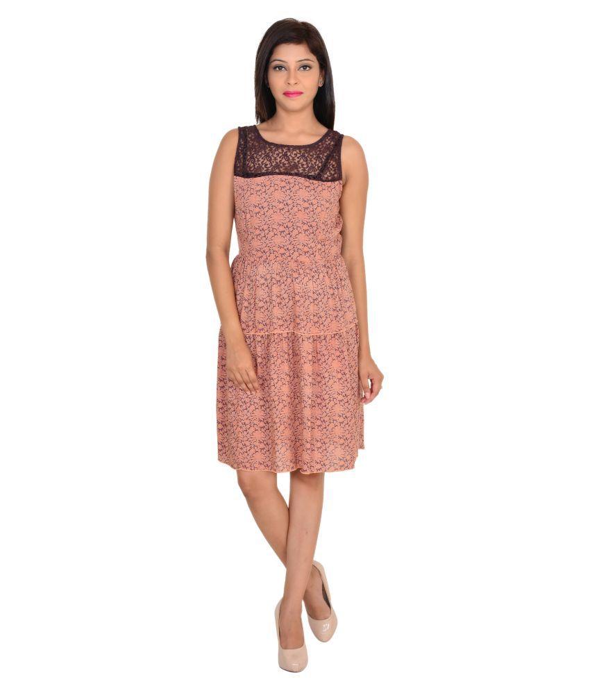 Vs Fashion Rayon Multi Color Dresses